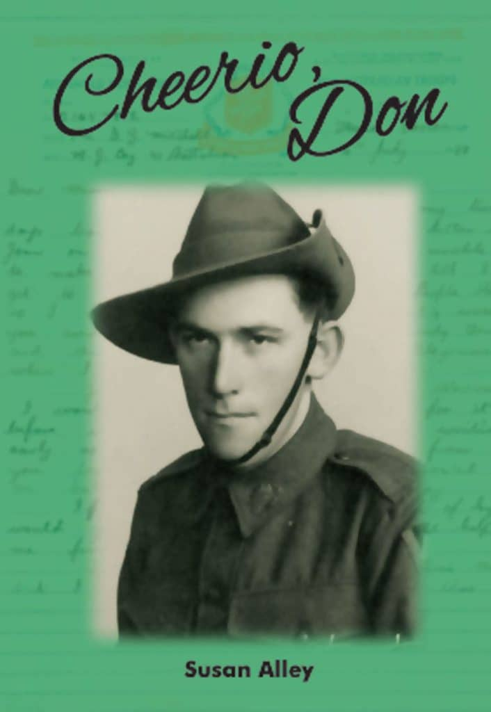 """Cheerio, Don"" By Susan Alley. Cairns: Jabiru Publishing, 2015."