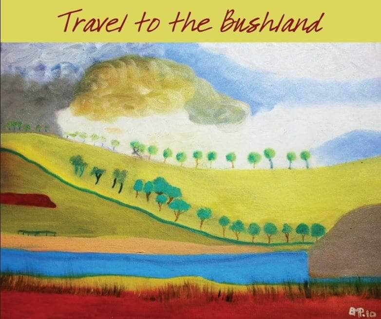 """Travel To The Bushland"" By Brenda Pearson. Cairns: Jabiru Publishing, 2016; 2nd Edition, 2017."